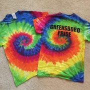 Greensboro Pride t-shirt