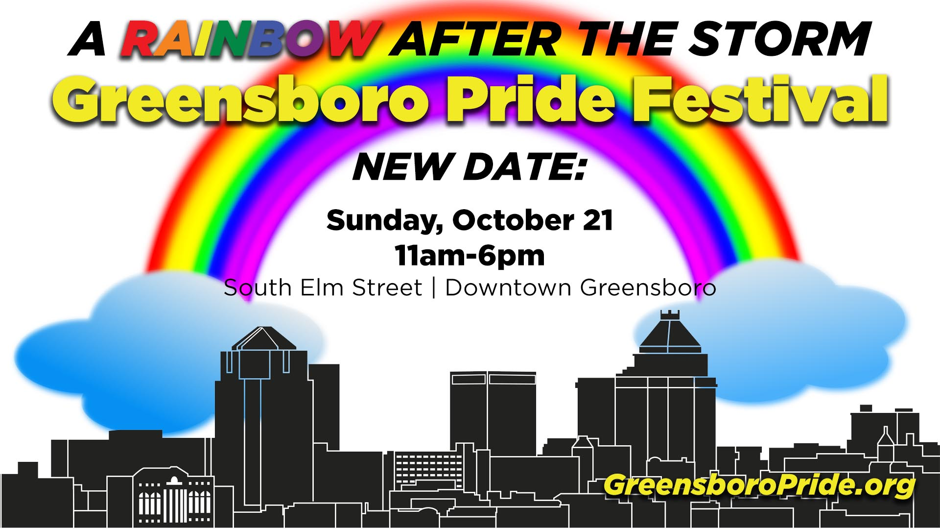 The Rainbow After The Storm: Greensboro Pride Festival 2018